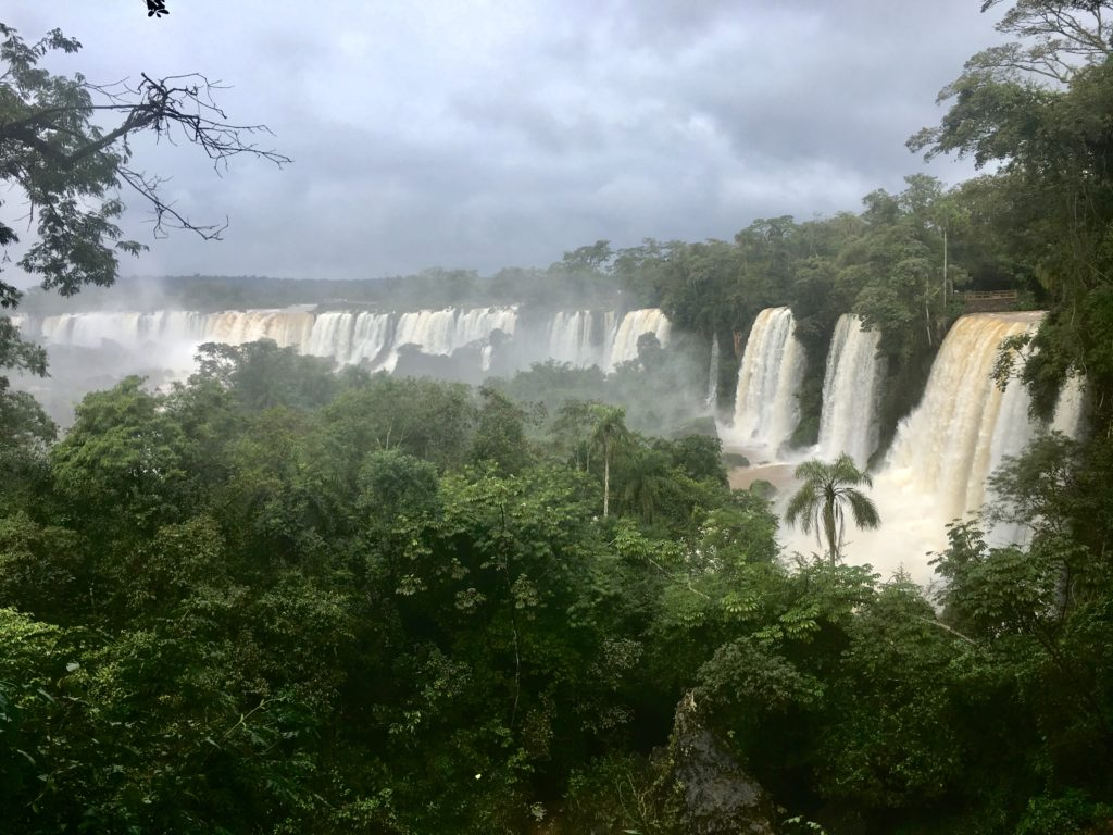 "Just a few falls of the ""Cataratas del Iguazú"""